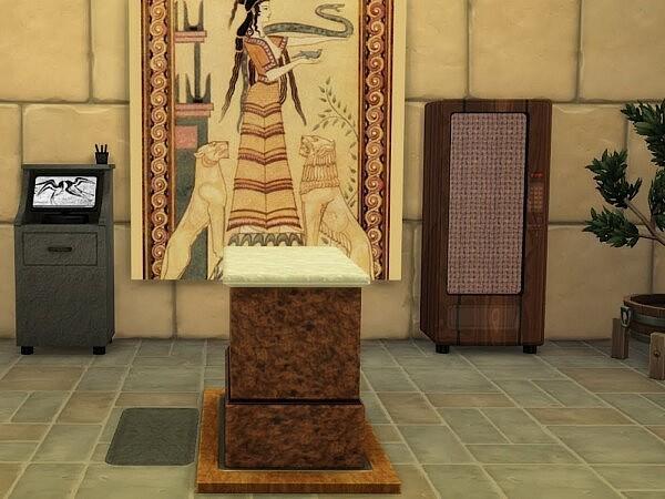 Ancient Vet set sims 4 cc