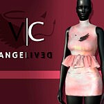AngeliveD Collection Dress I sims 4 cc