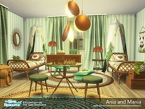 Ania and Mania Bedroom sims 4 cc