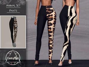 Animal Set Pants sims 4 cc