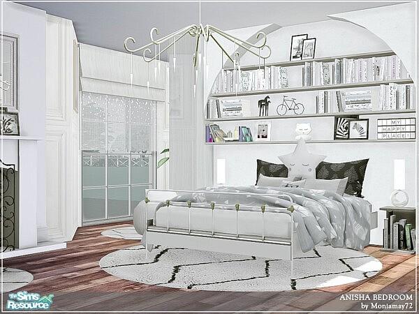 Anisha Bedroom sims 4 cc