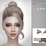 Anna Hair 149 sims 4 cc
