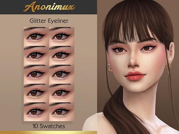 Anonimux Glitter Eyeliner