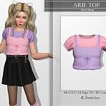 Arie Top sims 4 cc