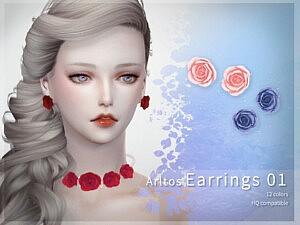 Arltos earrings 01 sims 4 cc