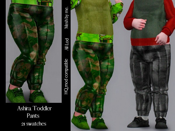 Ashira Toddler Pants by couquett from TSR