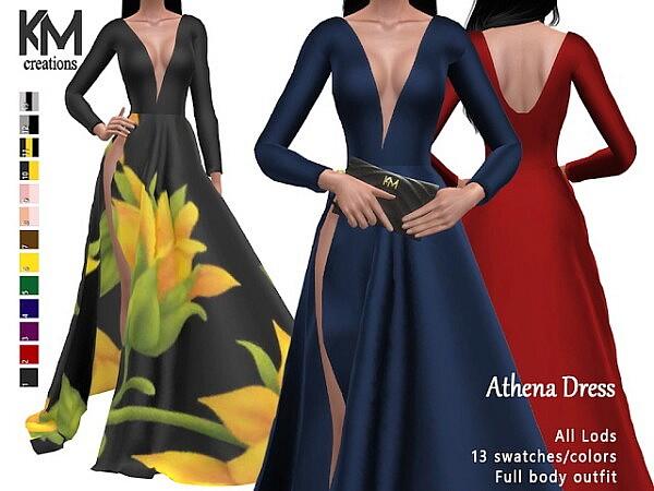 Athena Dress sims 4 cc
