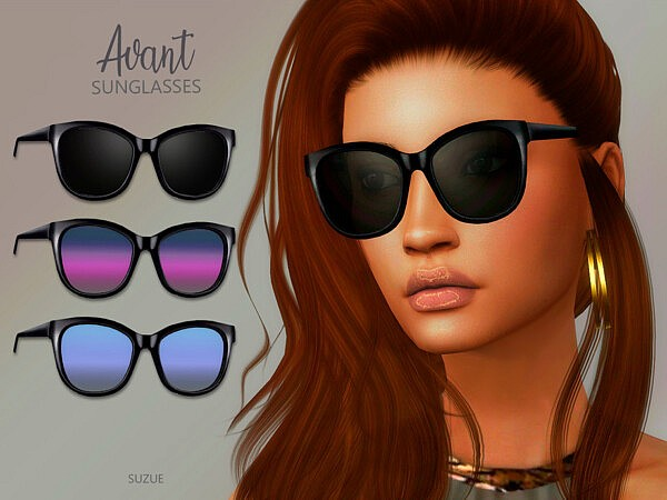 Avant Sunglasses by Suzue from TSR