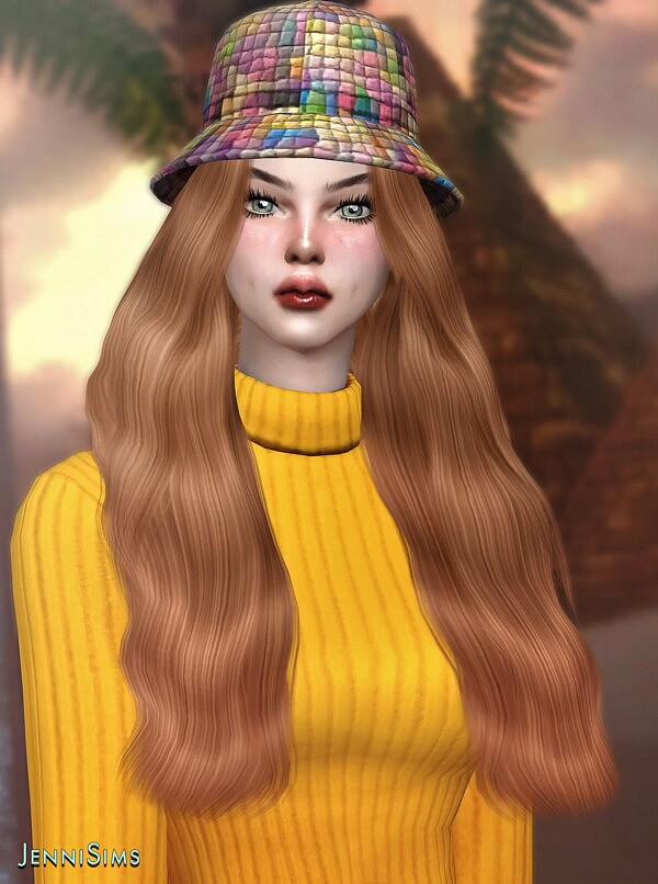 BASE GAME COMPATIBLE HAT sims 4 cc