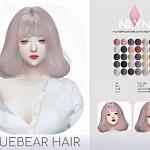 BLUEBEAR HAIR sims 4 cc