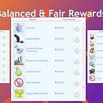 Balanced And Fair Reward Store Traits