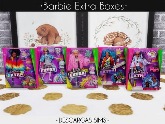 Barbie Extra Boxes