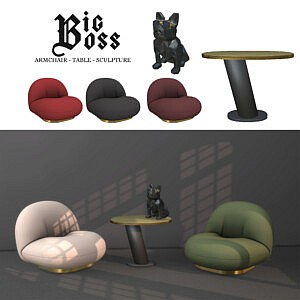 Big Boss Collection sims 4 cc