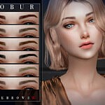 Bobur Eyebrows 35 sims 4 cc