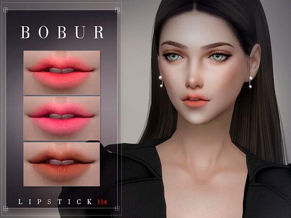 Bobur Lipstick 114