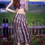 Boho Skirt sims 4 cc