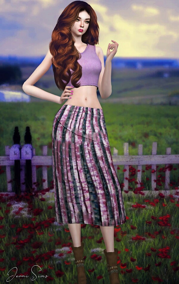 Boho Skirt from Jenni Sims
