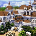 Britechester Library sims 4 cc