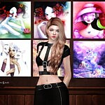 COLLECTION PAINTINGS sims 4 cc