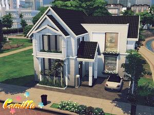 Camilla House sims 4 cc