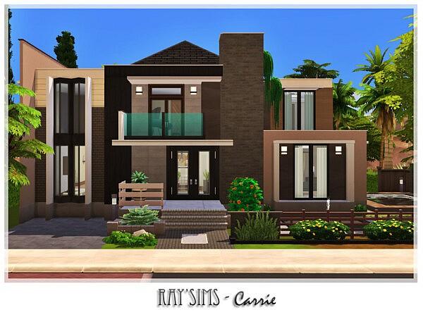 Carrie House sims 4 cc