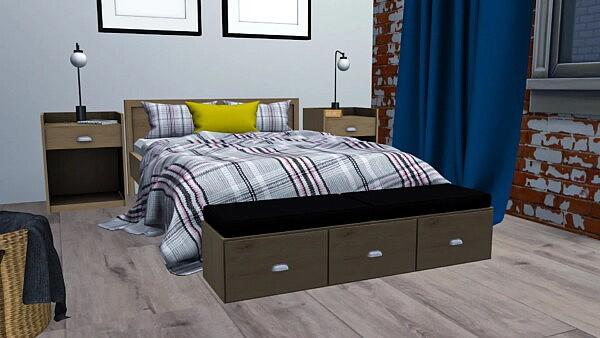 Celia Bedroom sims 4 cc