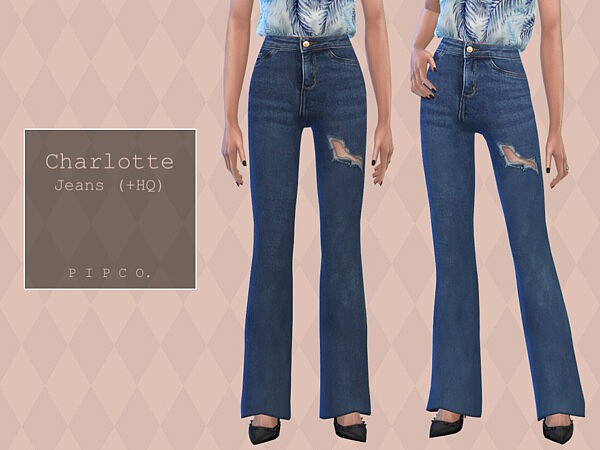Charlotte Jeans Bootcut