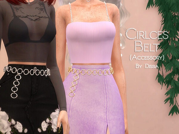 Circles Belt by Dissia from TSR