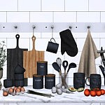 Claro Kitchen Decor sims 4 cc