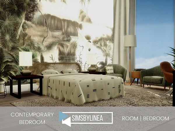 Contemporary Bedroom sims 4 cc