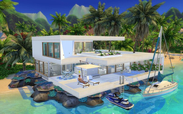 Coral Residence sims 4 cc