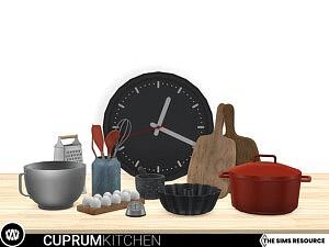 Cuprum Kitchen Decorations