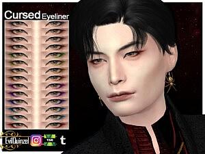 Cursed Eyeliner sims 4 cc