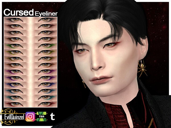 Cursed Eyeliner by EvilQuinzel from TSR