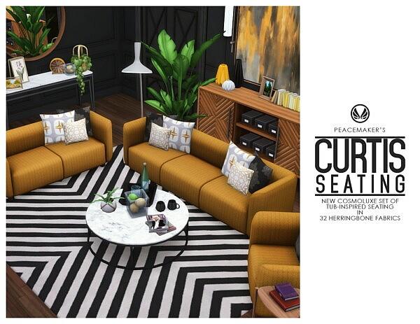 Curtis Seating sims 4 cc