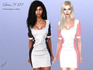 DRESS N 377