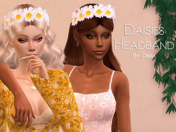 Daisies Headband by Dissia from TSR