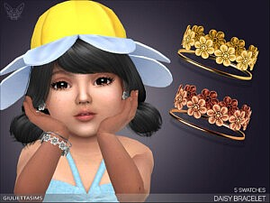 Daisy Bracelet For Toddlers sims 4 cc