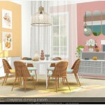 Dayana dining room