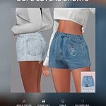 Dope Lovers Shorts sims 4 cc