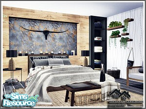 EUPALIN Bedroom sims 4 cc