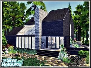 EUPALIN House sims 4 cc