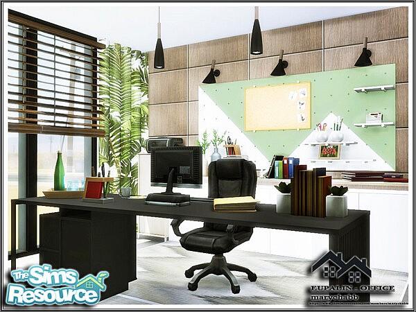 EUPALIN Office sims 4 cc