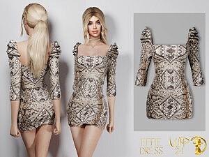 Effie Dress VIP24 sims 4 cc