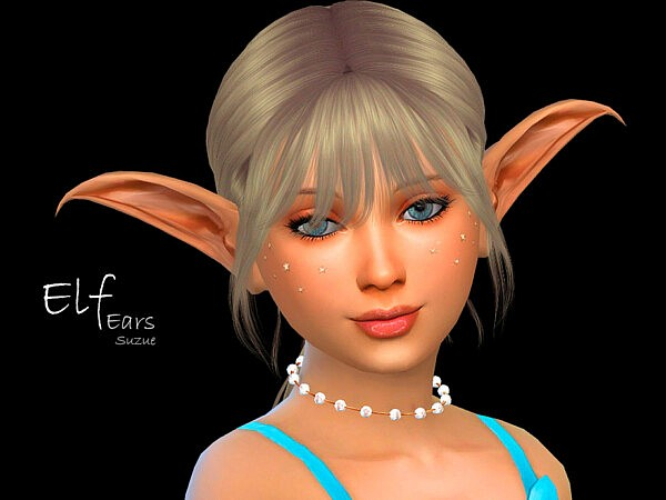 Elf Child Ears sims 4 cc