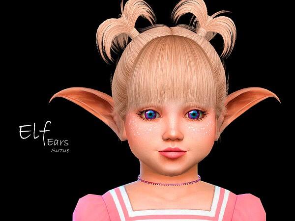 Elf Toddler Ears sims 4 cc