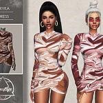 Eryka Dress sims 4 cc