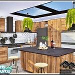 Eupalin Kitchen sims 4 cc
