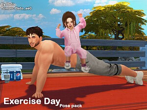 Exercise Day Pose pack