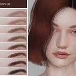 Eyebrows 06 sims 4 cc